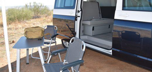 acampada con furgoneta Volkswagen
